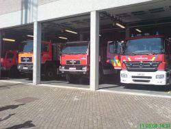 Brandweer-Kaserne in Heusden-Zolder