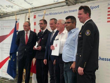 Uebergabe Integrationspreis